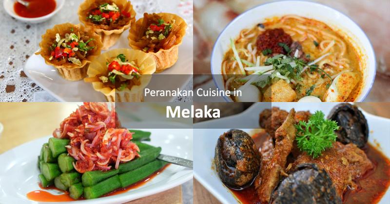 Peranakan Cuisine in Melaka