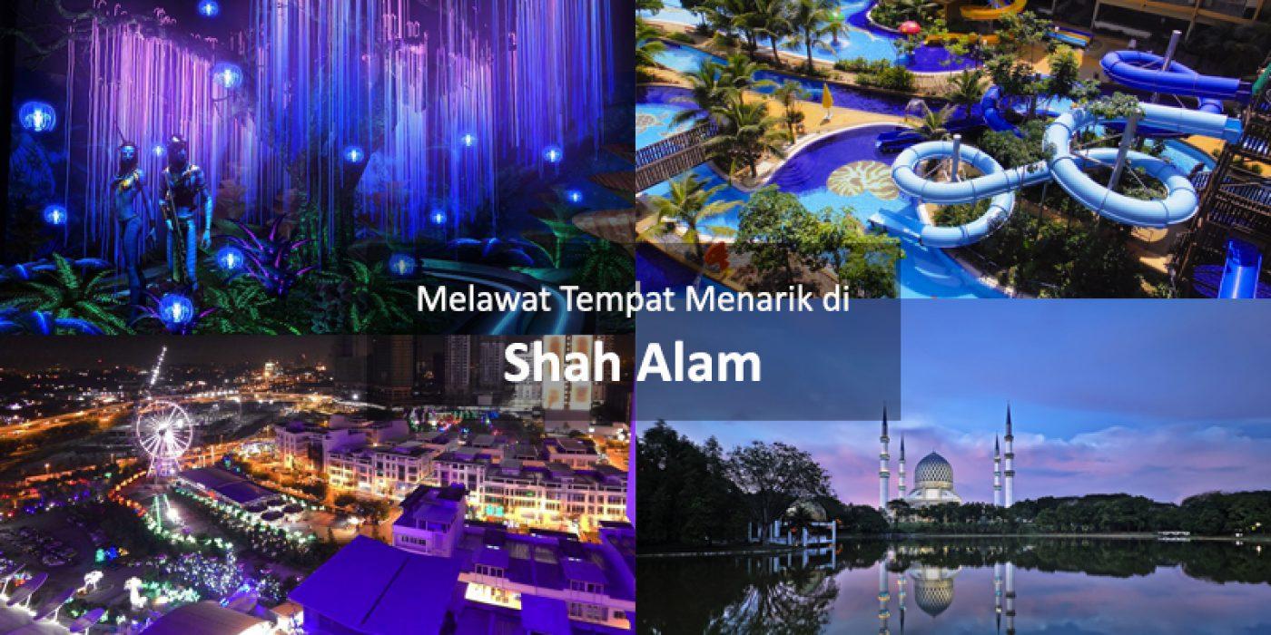 Melawat Tempat Menarik di Shah Alam